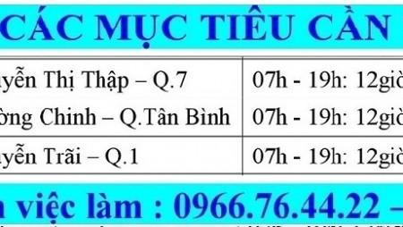 Công ty bảo vệ Đất Việt tuyển bảo vệ ngân hàng làm việc tại tphcm