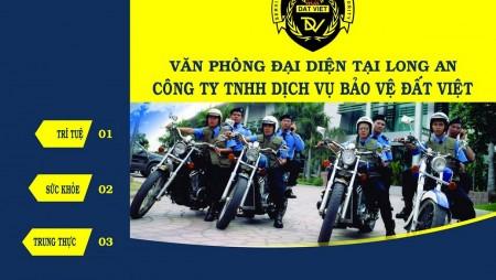 Địa chỉ công ty dịch vụ bảo vệ uy tín Đất Việt tại Long An