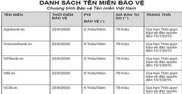 tên miền công ty bảo vệ Đất Việt