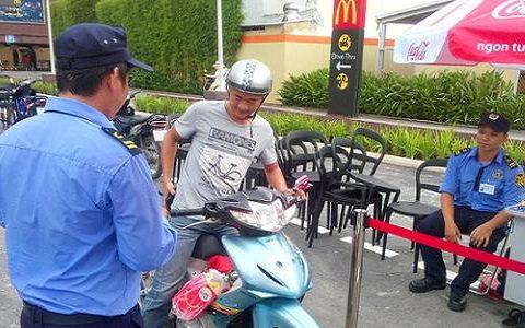 dịch vụ bảo vệ bãi xe tại Tp.HCM